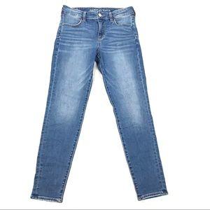 AEO hi rise jeggings skinny jeans